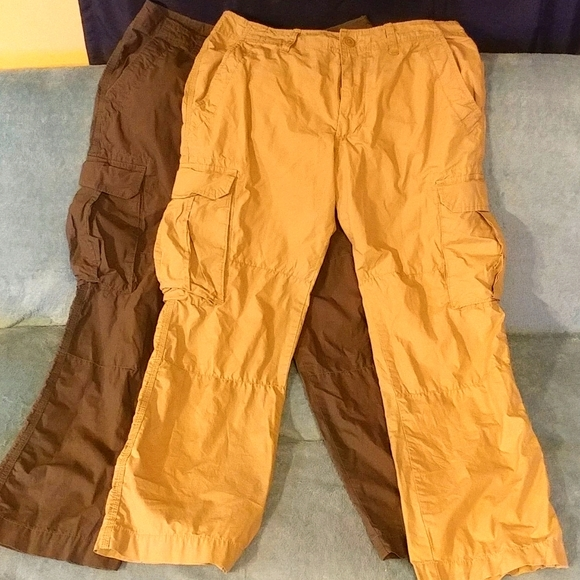 2 pair Gap light weight, fast dry hiking cargos